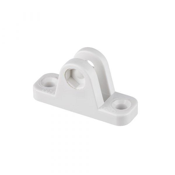 Deck Mount-Medium Nylon White