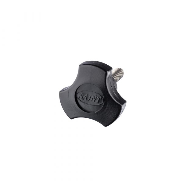 Thumb Screw - 3 eared Nylon Black