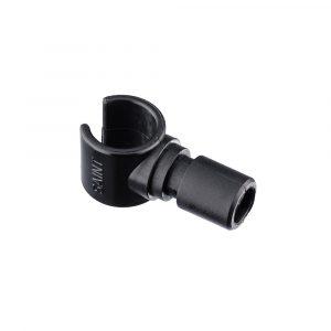 Bow Stay Clip 20x1.6mm Nylon Black